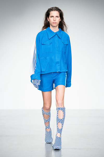 Richard Malone Spring 2018 Ready-to-Wear - Look #15