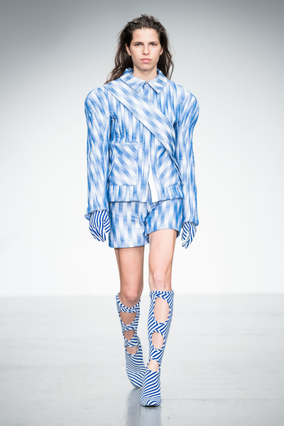 Richard Malone Spring 2018 Ready-to-Wear - Look #5