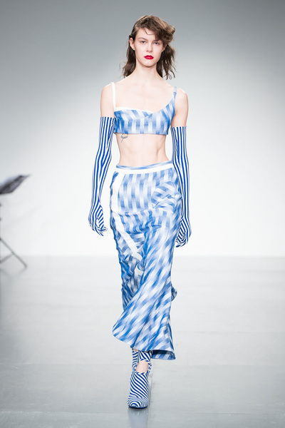 Richard Malone Spring 2018 Ready-to-Wear - Look #8