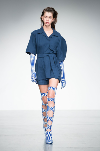 Richard Malone Spring 2018 Ready-to-Wear - Look #9