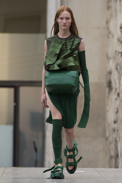 Rick Owens Spring 2018 Ready-to-Wear - Look #24