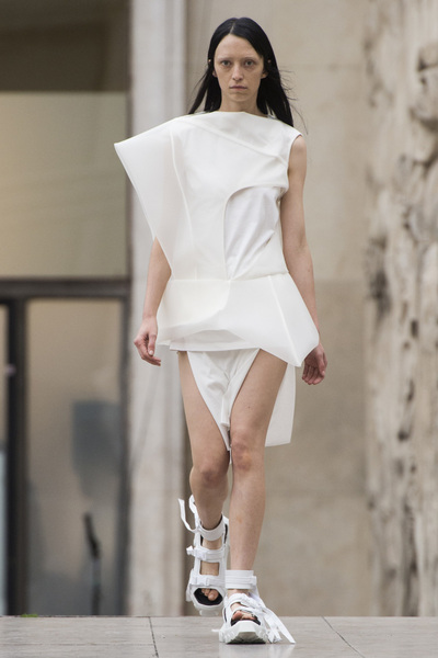 Rick Owens Spring 2018 Ready-to-Wear - Look #3