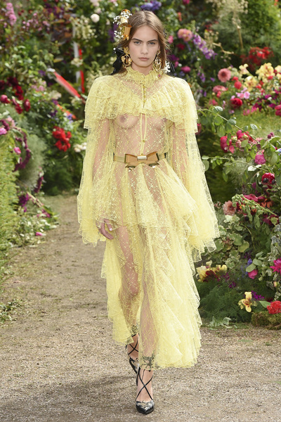 Rodarte Spring 2018 Ready-to-Wear - Look #1