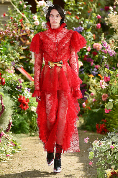 Rodarte Spring 2018 Ready-to-Wear - Look #17