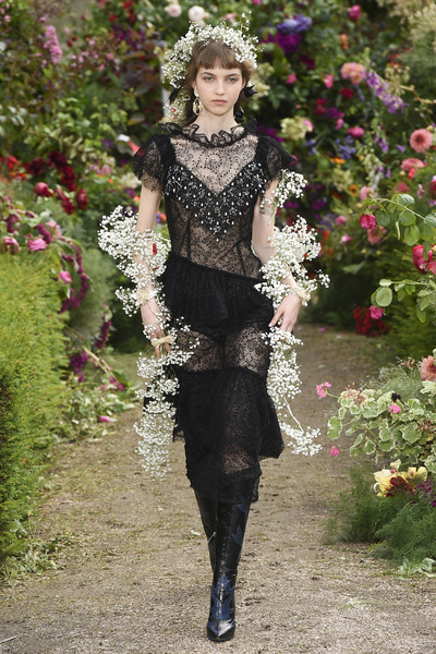 Rodarte Spring 2018 Ready-to-Wear - Look #21