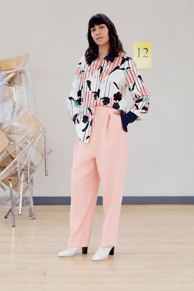Roksanda Resort 2018 - Look #10