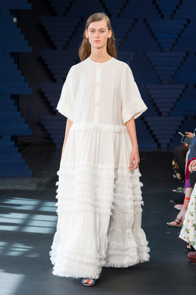 Roksanda Spring 2018 Ready-to-Wear - Look #1