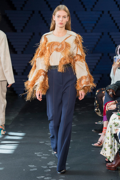 Roksanda Spring 2018 Ready-to-Wear - Look #12