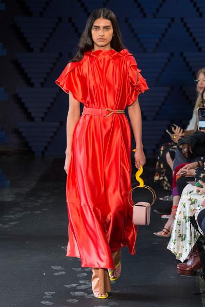 Roksanda Spring 2018 Ready-to-Wear - Look #19