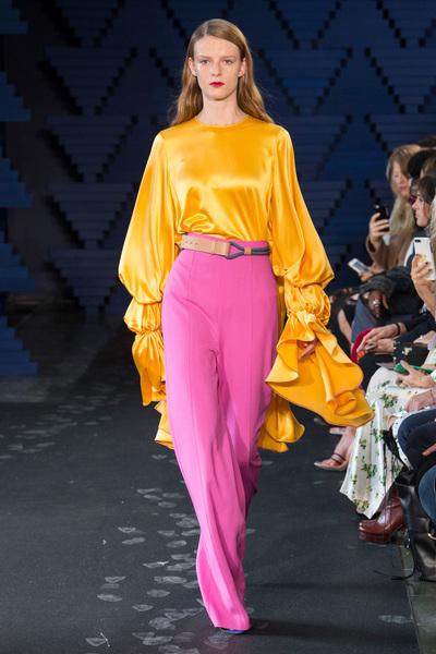 Roksanda Spring 2018 Ready-to-Wear - Look #21