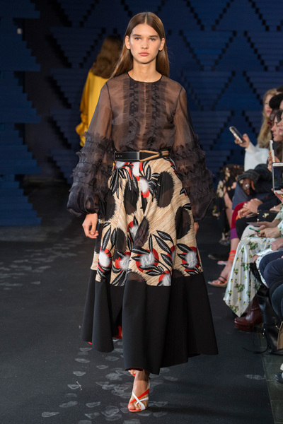 Roksanda Spring 2018 Ready-to-Wear - Look #30