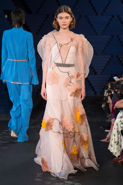 Roksanda Spring 2018 Ready-to-Wear - Look #33