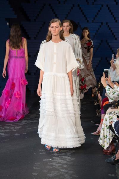 Roksanda Spring 2018 Ready-to-Wear - Look #35