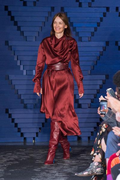 Roksanda Spring 2018 Ready-to-Wear - Look #36