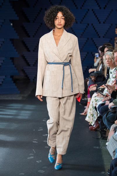 Roksanda Spring 2018 Ready-to-Wear - Look #4