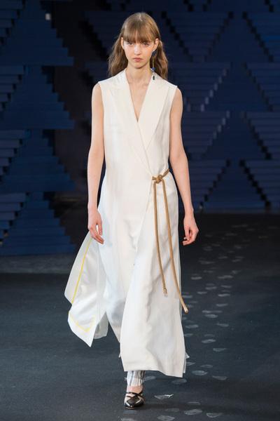 Roksanda Spring 2018 Ready-to-Wear - Look #6