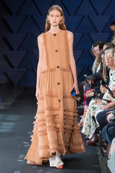 Roksanda Spring 2018 Ready-to-Wear - Look #7