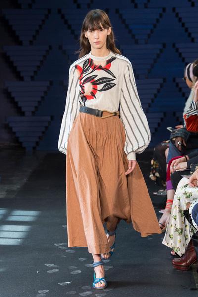Roksanda Spring 2018 Ready-to-Wear - Look #8