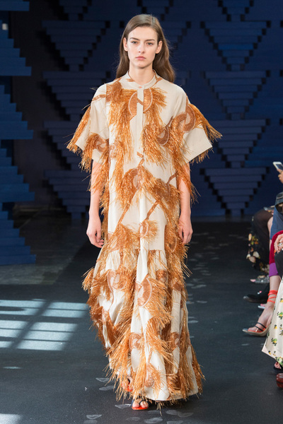 Roksanda Spring 2018 Ready-to-Wear - Look #9
