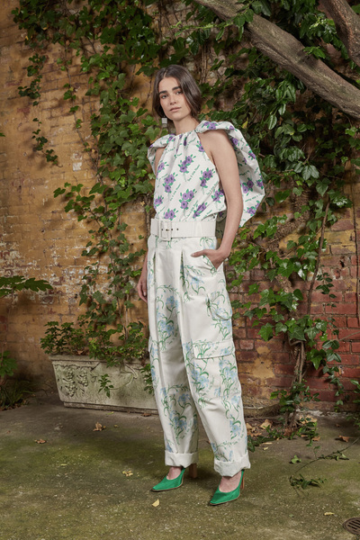 Rosie Assoulin Resort 2018 - Look #17