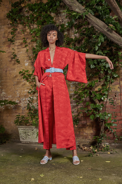 Rosie Assoulin Resort 2018 - Look #18