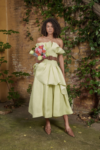 Rosie Assoulin Resort 2018 - Look #35