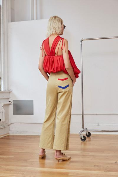 Rosie Assoulin Spring 2018 Ready-to-Wear - Look #10