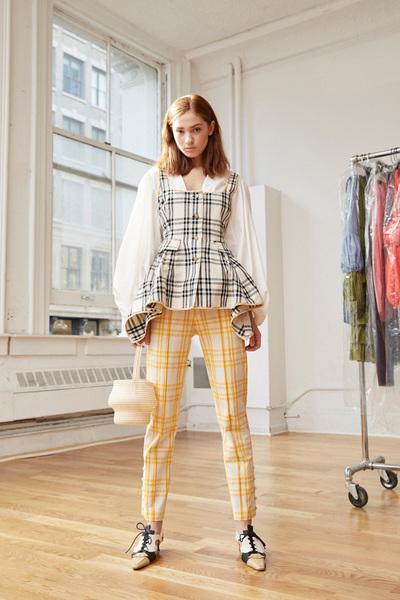 Rosie Assoulin Spring 2018 Ready-to-Wear - Look #12