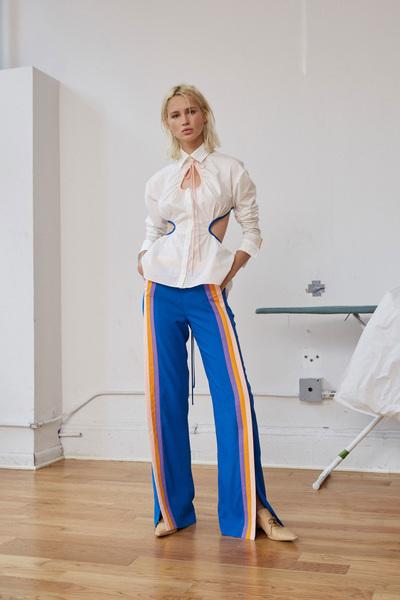 Rosie Assoulin Spring 2018 Ready-to-Wear - Look #17