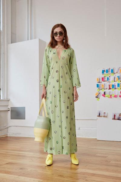Rosie Assoulin Spring 2018 Ready-to-Wear - Look #21