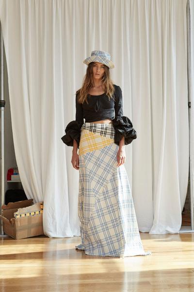 Rosie Assoulin Spring 2018 Ready-to-Wear - Look #22