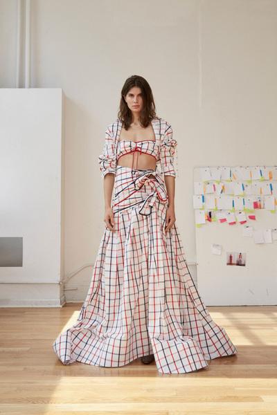 Rosie Assoulin Spring 2018 Ready-to-Wear - Look #25