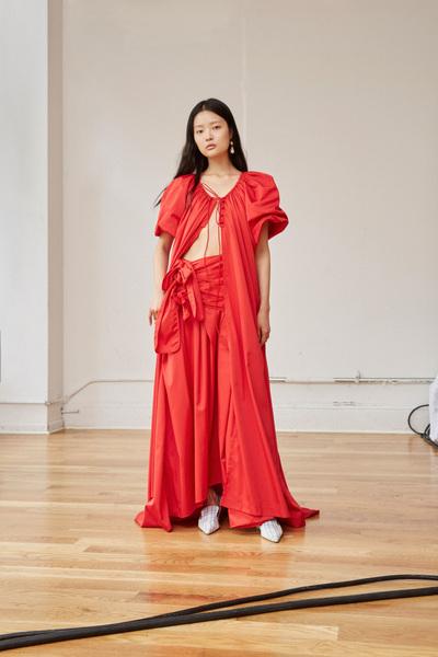 Rosie Assoulin Spring 2018 Ready-to-Wear - Look #27