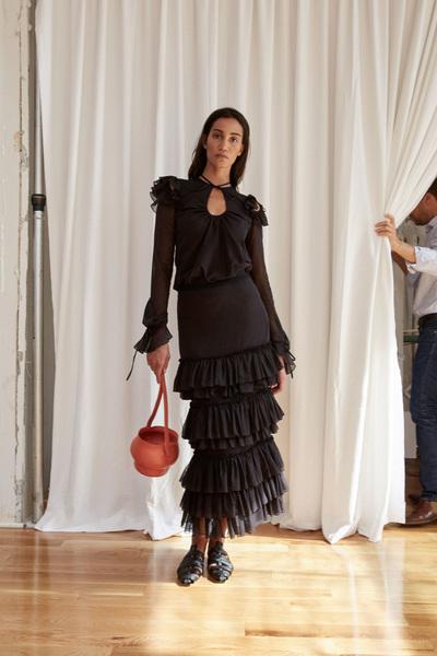 Rosie Assoulin Spring 2018 Ready-to-Wear - Look #28
