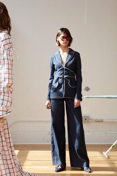 Rosie Assoulin Spring 2018 Ready-to-Wear - Look #4
