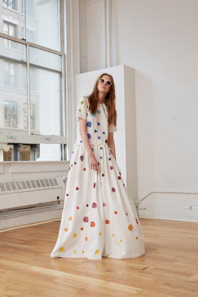 Rosie Assoulin Spring 2018 Ready-to-Wear - Look #7