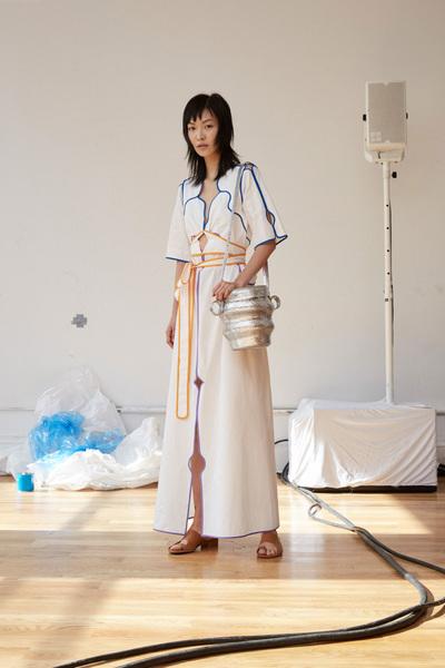 Rosie Assoulin Spring 2018 Ready-to-Wear - Look #9
