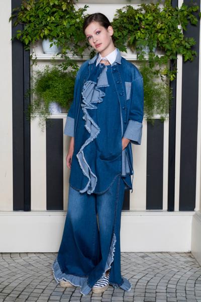 Rossella Jardini Spring 2018 Ready-to-Wear - Look #5
