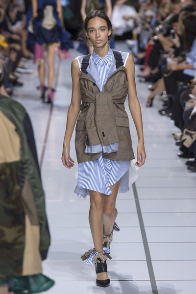 Sacai Spring 2018 Ready-to-Wear - Look #9