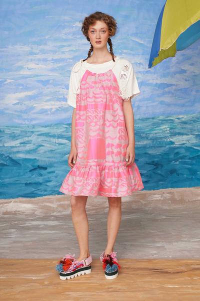 Tsumori Chisato Resort 2018 - Look #4