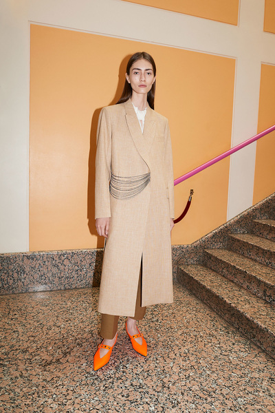 Victoria Beckham Resort 2018 - Look #1