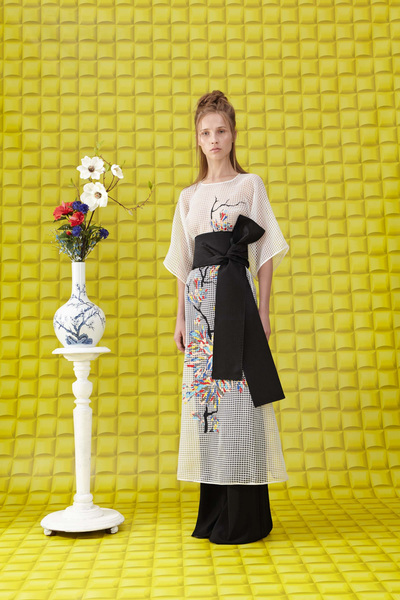 Vionnet Resort 2018 - Look #12