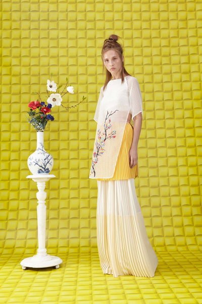 Vionnet Resort 2018 - Look #18