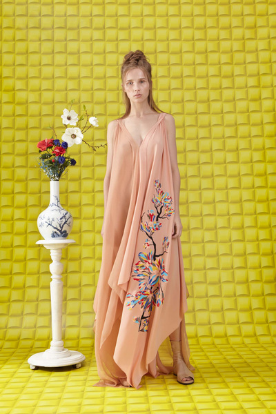 Vionnet Resort 2018 - Look #19