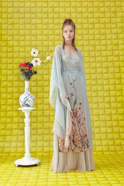 Vionnet Resort 2018 - Look #2