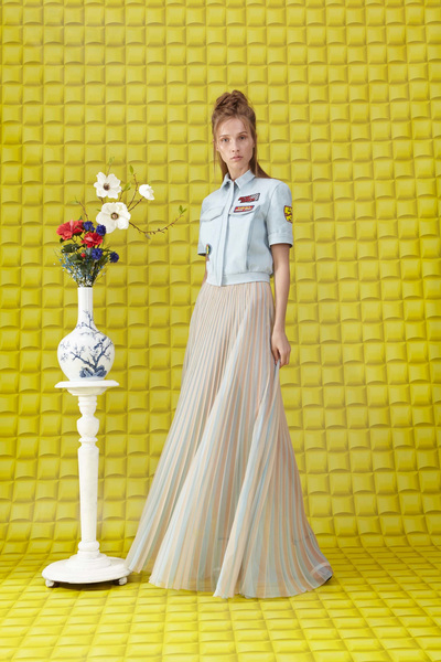 Vionnet Resort 2018 - Look #3