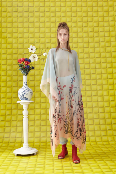 Vionnet Resort 2018 - Look #4