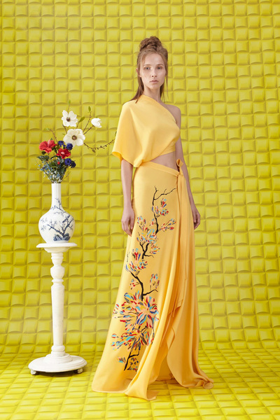 Vionnet Resort 2018 - Look #8