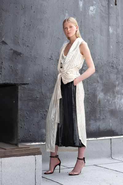 Yigal Azrouel Resort 2018 - Look #2