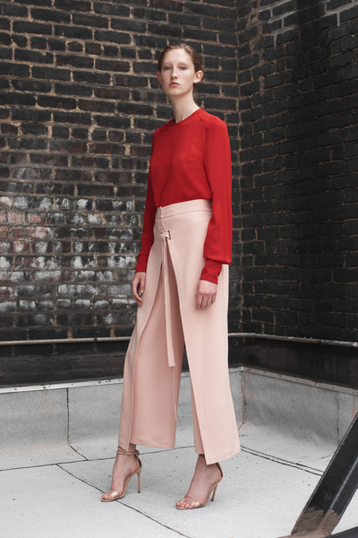 Yigal Azrouel Resort 2018 - Look #22